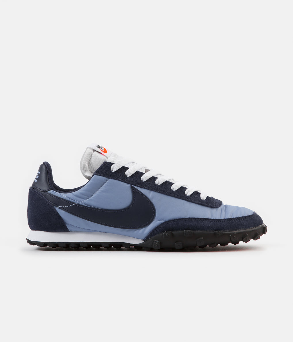 Nike Waffle Racer Shoes - Light Blue / Midnight Navy - Midnight Navy