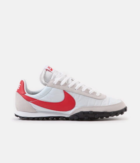 Nike Waffle Racer Shoes - White / University Red - Platinum Tint - White