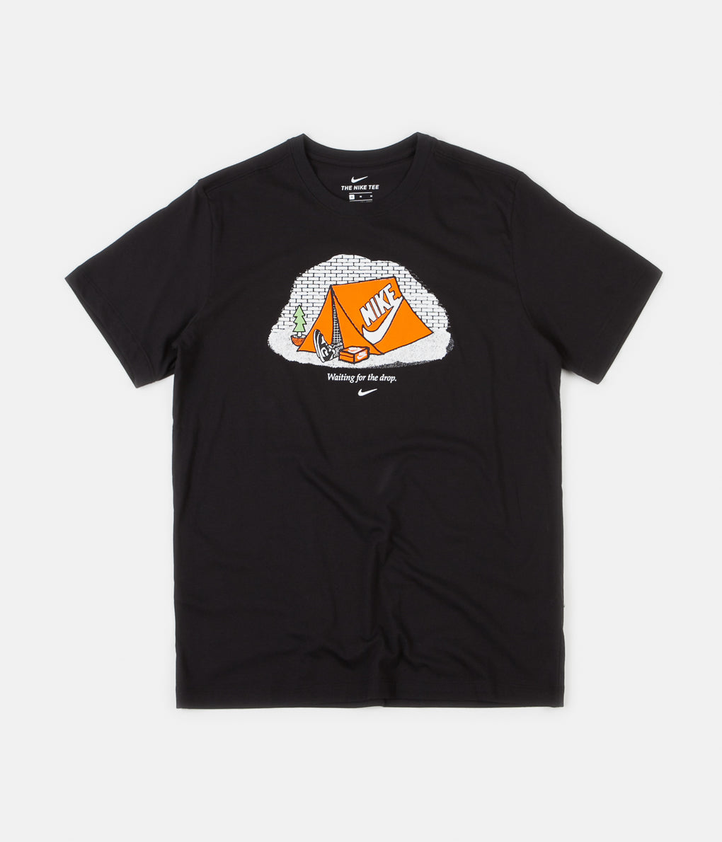 Nike Waiting For The Drop T-Shirt - Black