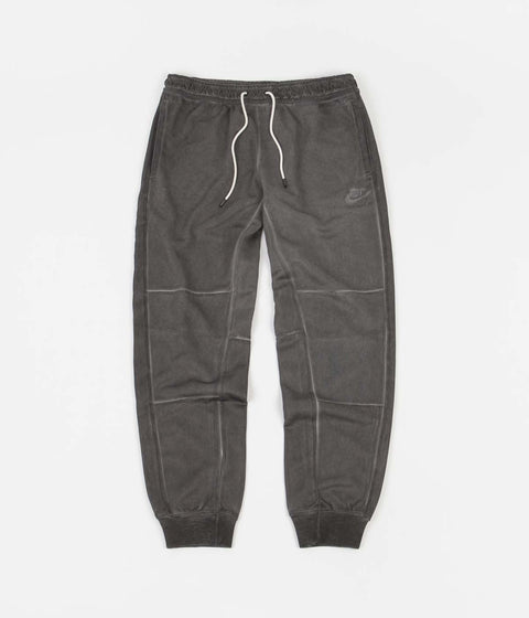 Nike Wash Revival Jersey Pants - Black / Black
