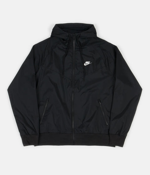 Nike Windrunner Jacket - Black / Black / Black / Sail