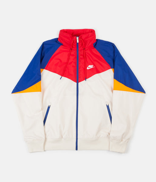 conversione incinta ritmo  Nike Windrunner Jacket - Light Cream / University Red / White | Always in  Colour