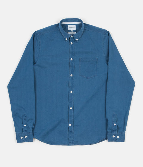 Norse Projects Anton Denim Shirt - Sunwashed
