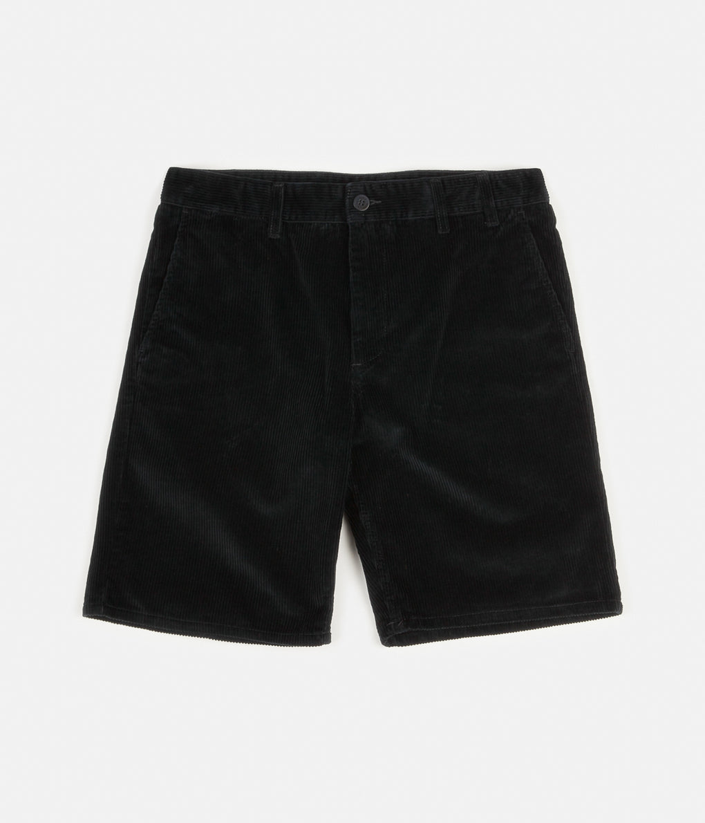 Norse Projects Aros Corduroy Shorts - Dark Navy