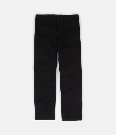 Norse Projects Aros Heavy Pants - Black