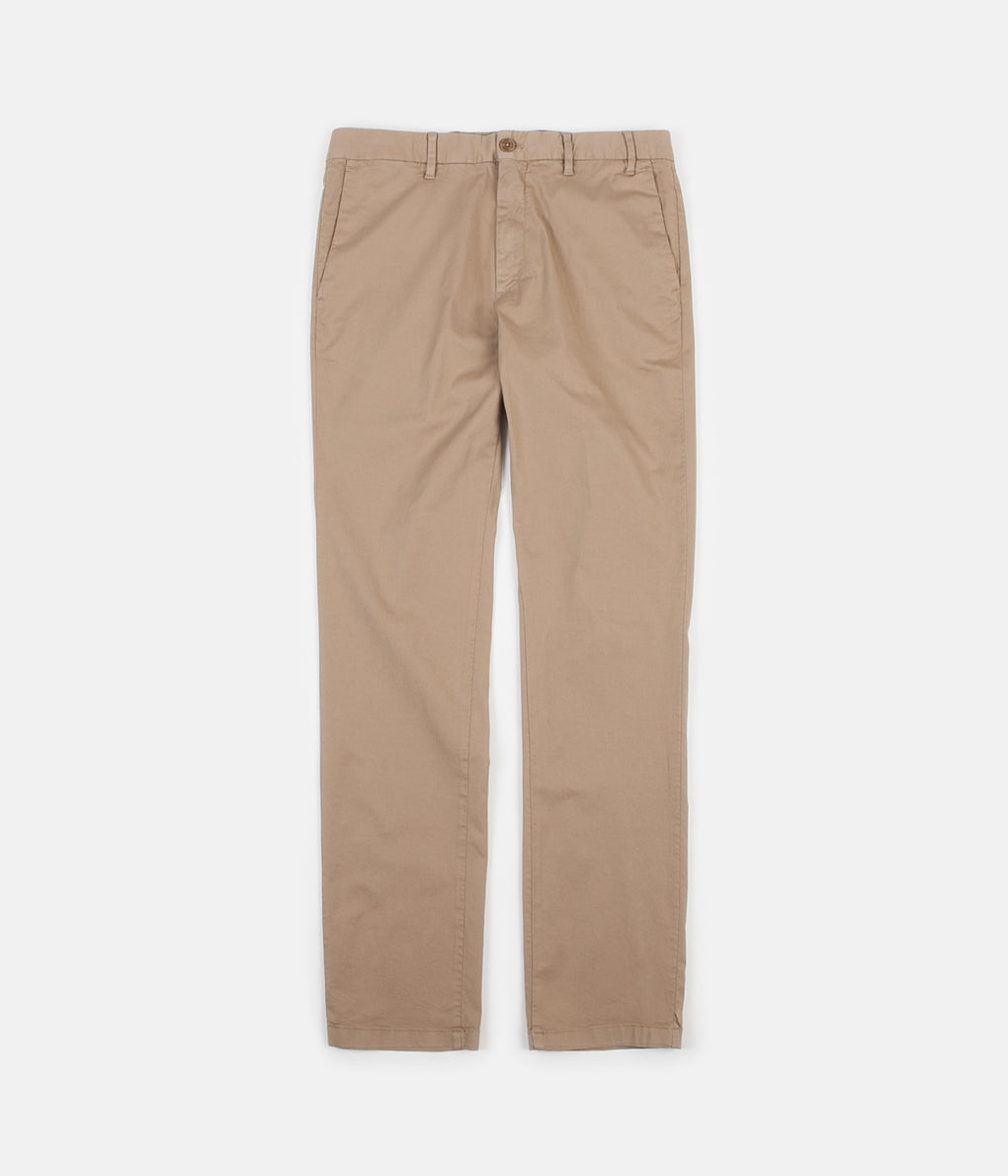 Norse Projects Aros Slim Light Stretch Trousers - Utility Khaki