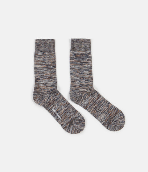 Norse Projects Bjarki Blend Socks - Multi Colour