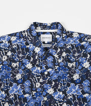 Norse Projects Carsten Liberty Print Shirt - Dark Navy