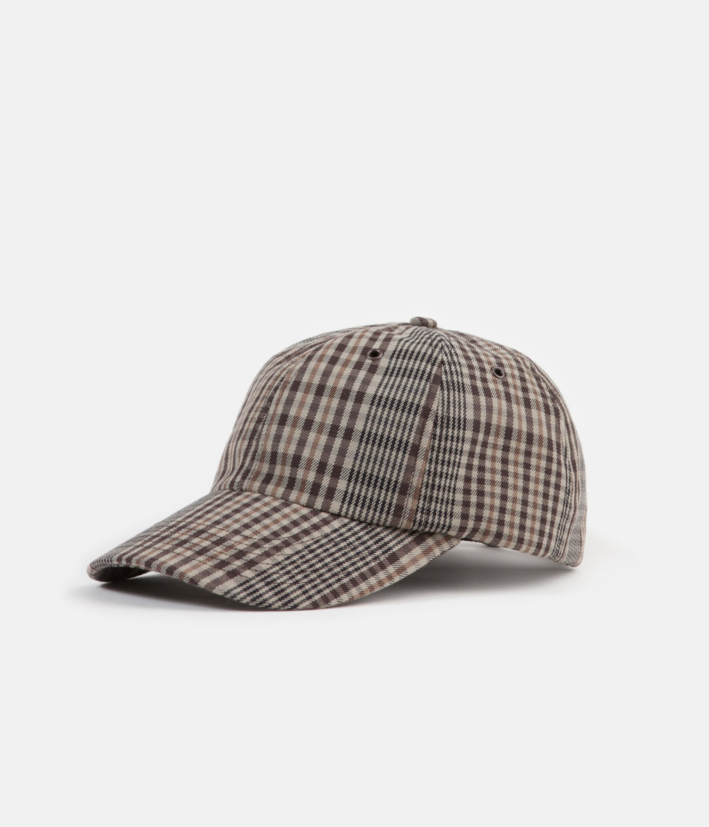 Norse Projects Compact Twill Sports Cap - Check