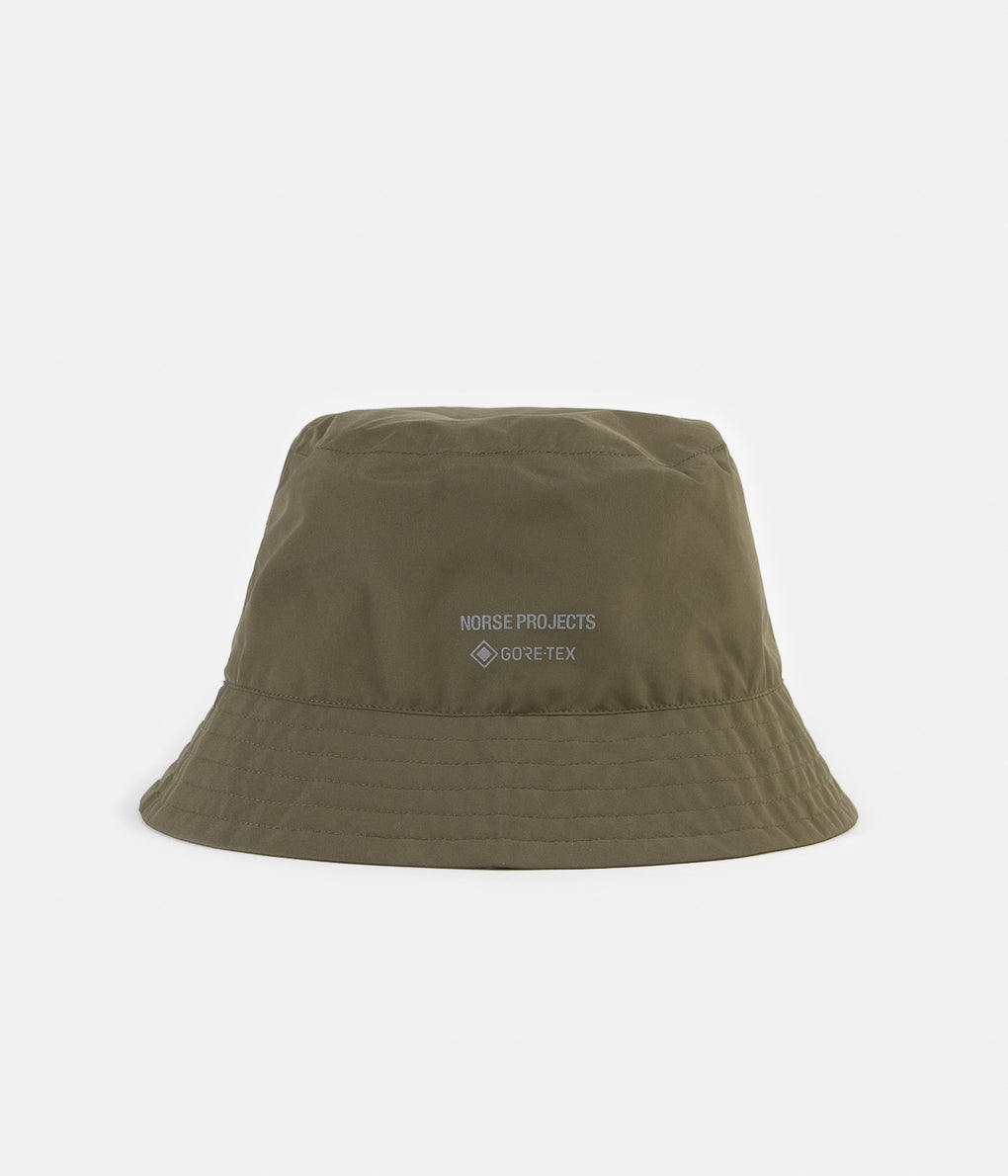 Norse Projects Gore Tex Bucket Hat - Shale Stone