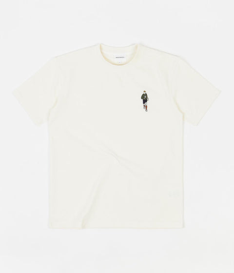 Norse Projects Johannes Orienteer T-Shirt - Ecru