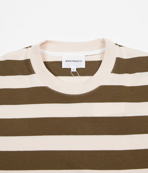 202b1fcd76 ... Norse Projects Johannes Rugby Stripe Long Sleeve T-Shirt - Sitka Green