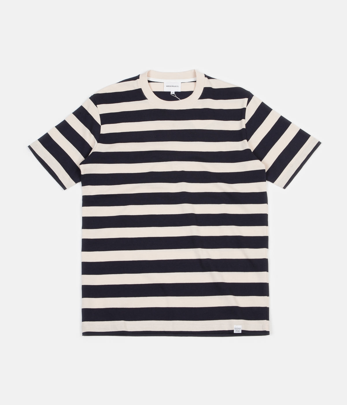 1716a9c6cb44 Norse Projects Johannes Rugby Stripe T-Shirt - Navy