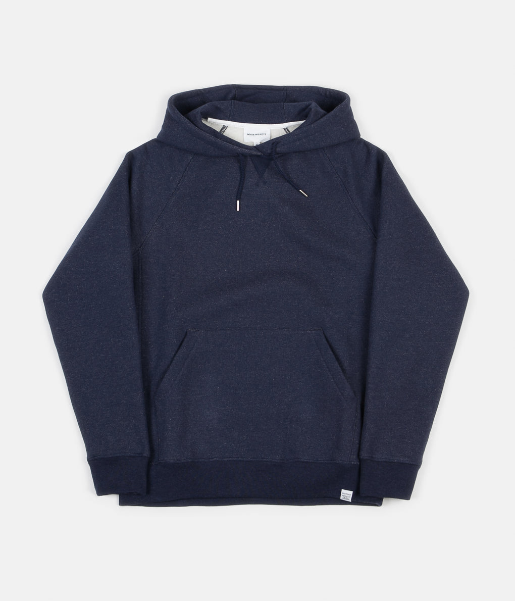 Norse Projects Ketel Classic Hoodie - Dark Navy