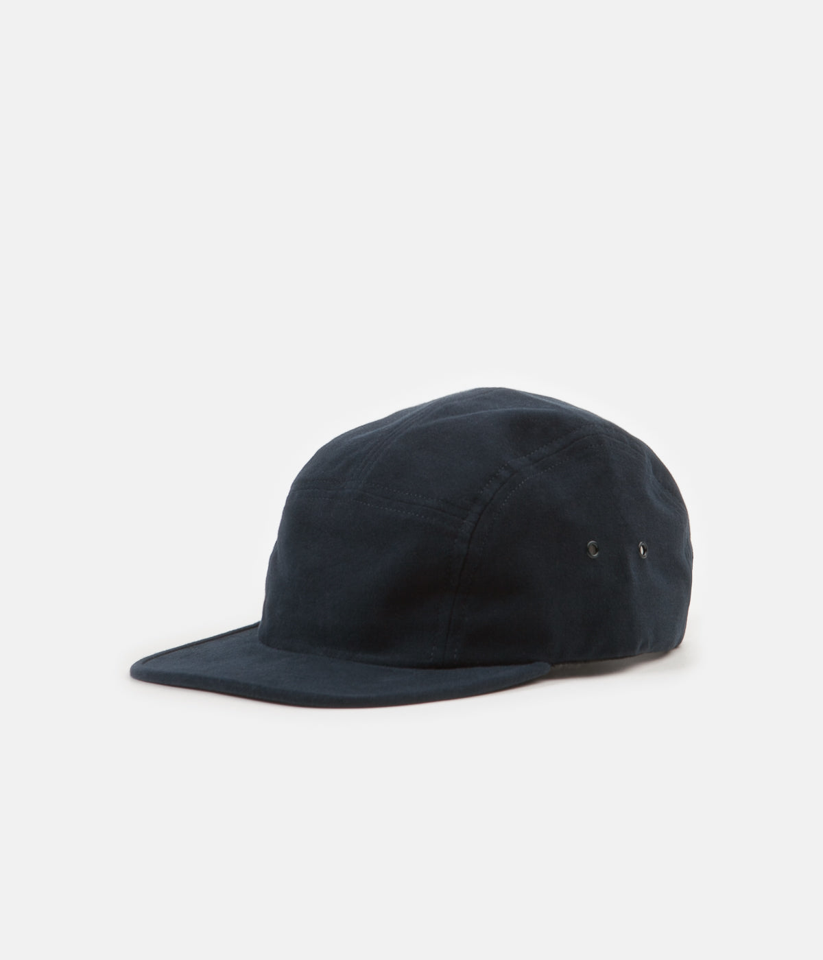 2158a5b188 Norse Projects Moleskin 5 Panel Cap - Dark Navy | Always in Colour