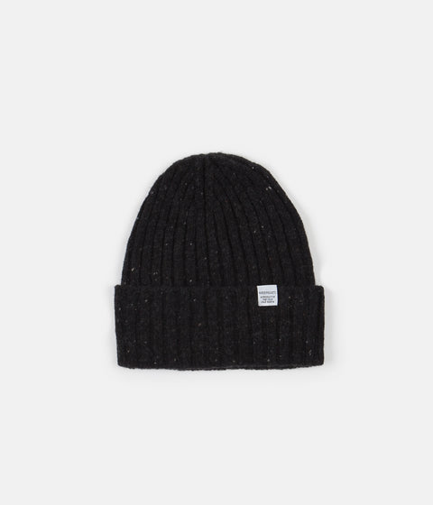 Norse Projects Neps Beanie - Charcoal Melange