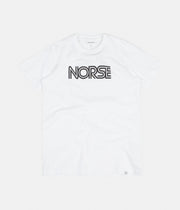 Norse Projects Niels Nautical Logo T-Shirt - White