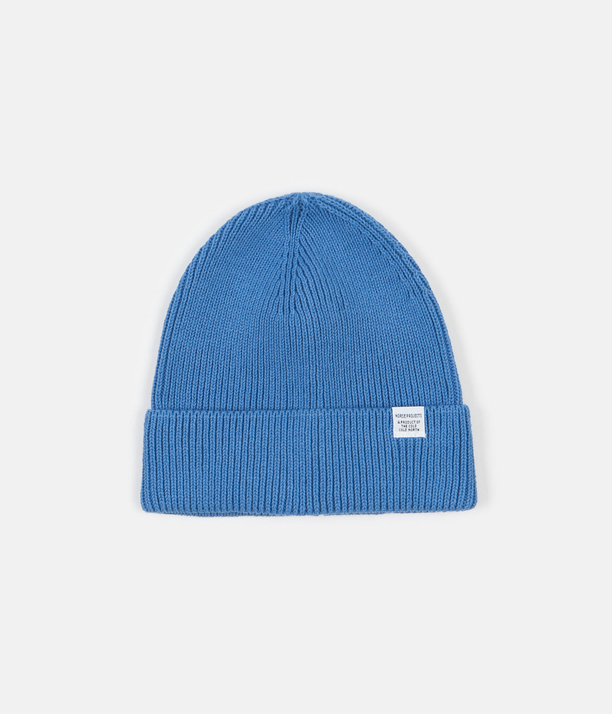 497178c6328 Norse Projects Norse Cotton Watch Beanie - Cali Blue