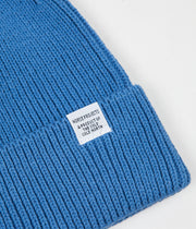 Norse Projects Norse Cotton Watch Beanie - Cali Blue