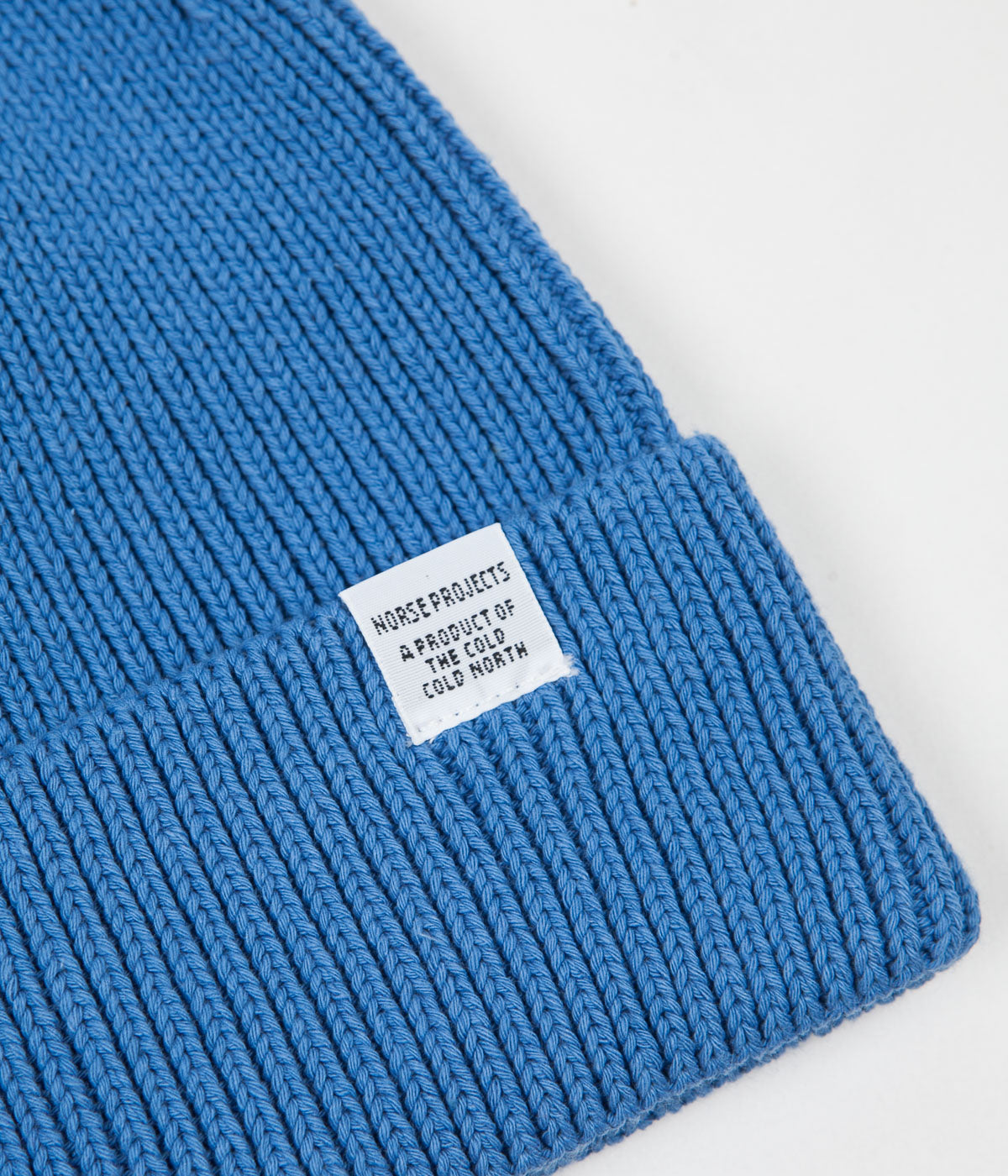 72db534fc03 Norse Projects Norse Cotton Watch Beanie - Cali Blue ...