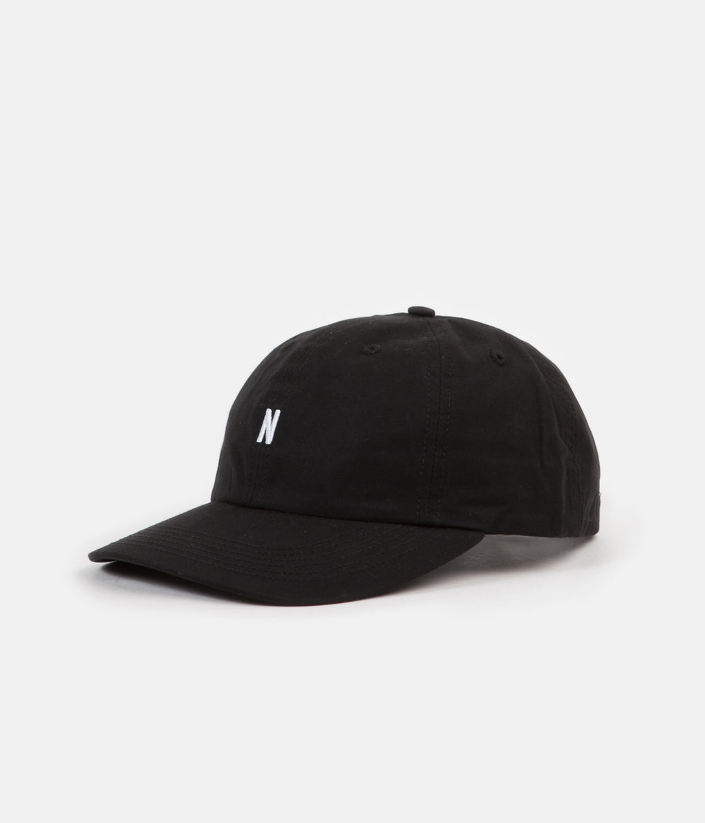 Norse Projects Norse Sports Cap - Black