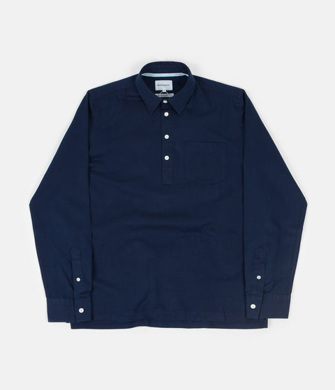 Norse Projects Oscar Indigo Half Pocket Shirt - Indigo