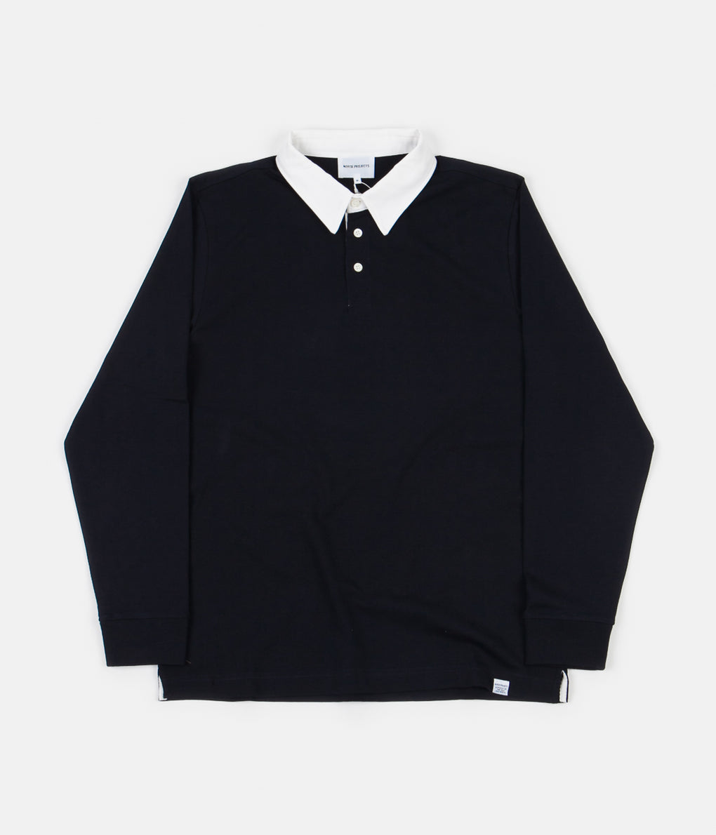 Norse Projects Ruben Polo Shirt - Dark Navy