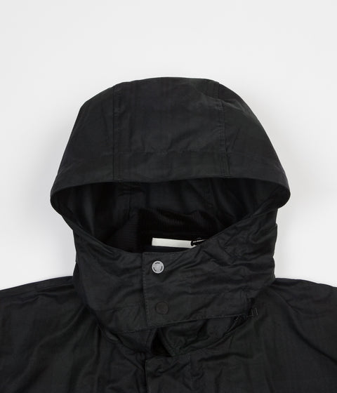 Norse Projects Trondheim Waxed Cotton Jacket - Black Watch Check