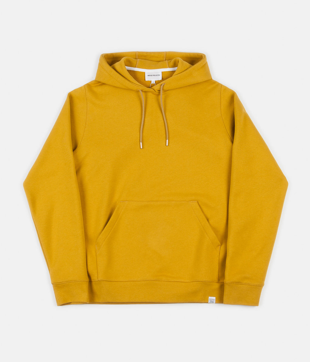 Norse Projects Vagn Classic Hoodie - Montpellier Yellow