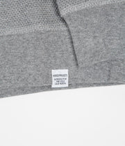 Norse Projects Vagn Moss Stith Crewneck Sweatshirt - Light Grey Melange