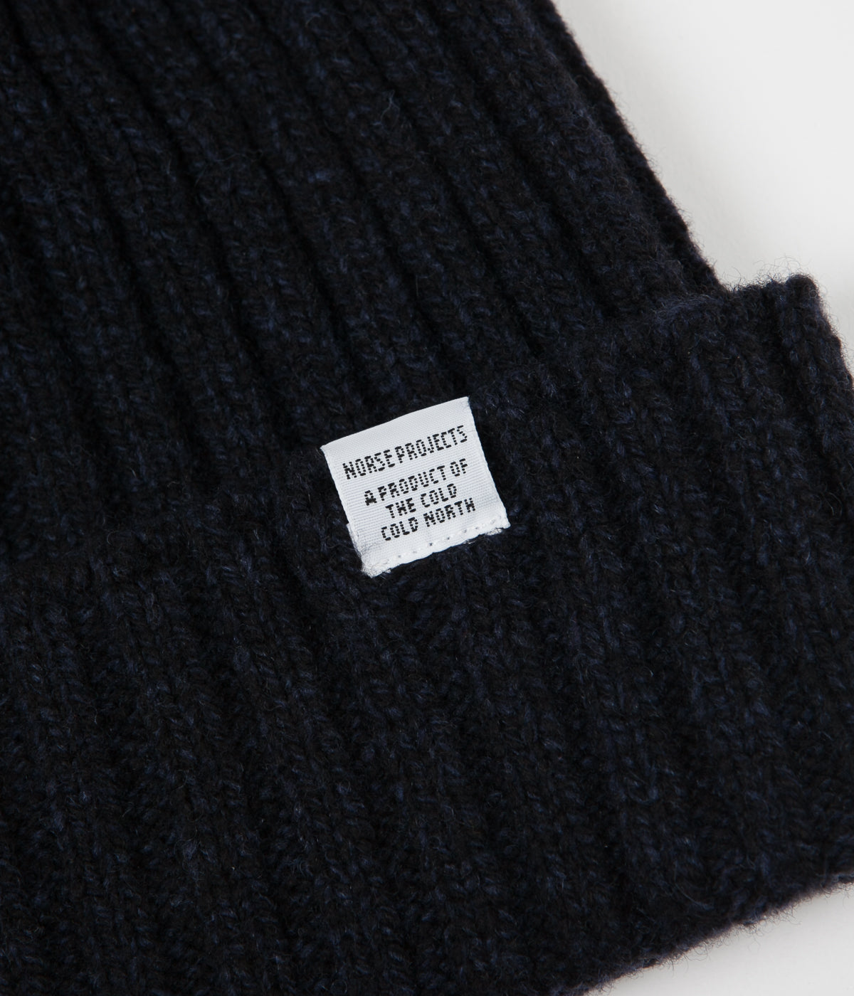 ea4a564371e Norse Projects Wide Rib Beanie - Dark Navy ...