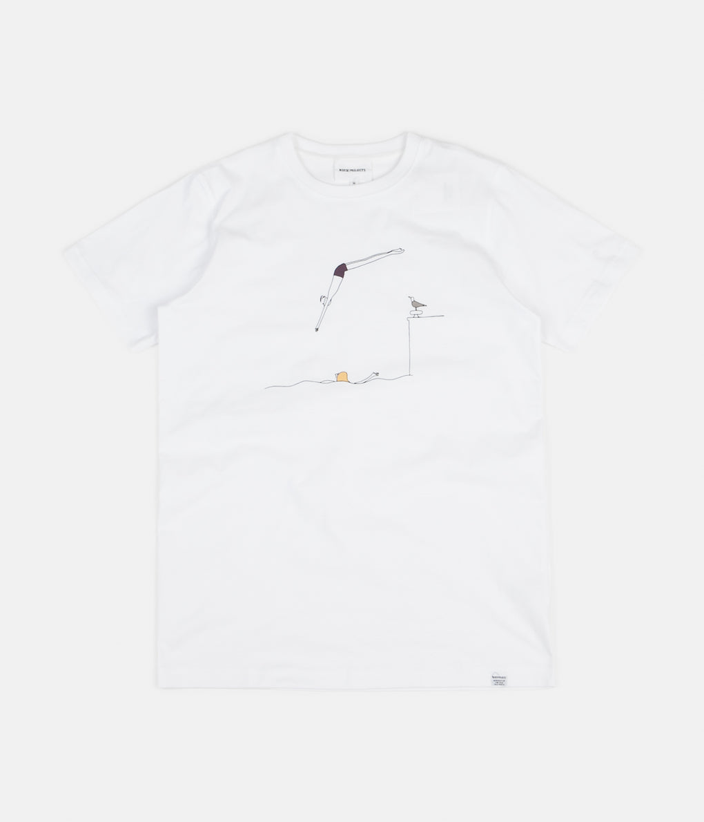 Norse Projects x Daniel Frost Jump T-Shirt - White