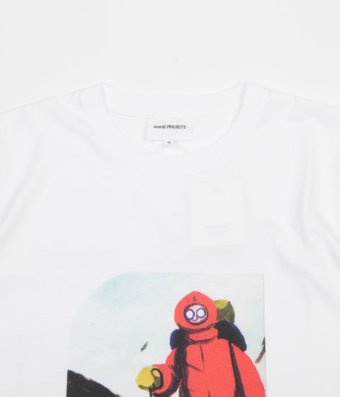 Norse Projects x Daniel Frost Mountaineer T-Shirt - White