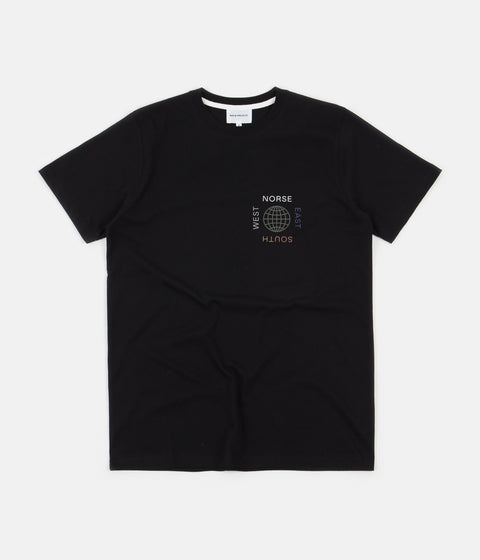 Norse Projects x Matt Luckhurst Niels T-Shirt - Black