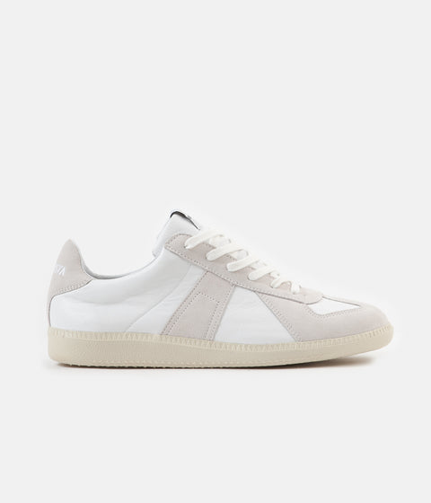 Novesta German Army Trainer Shoes - White / Ecru
