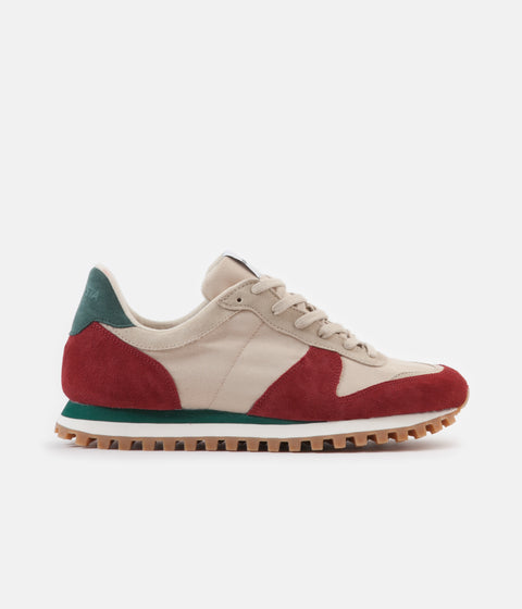 Novesta Marathon Trail Shoes - Red / Burgundy