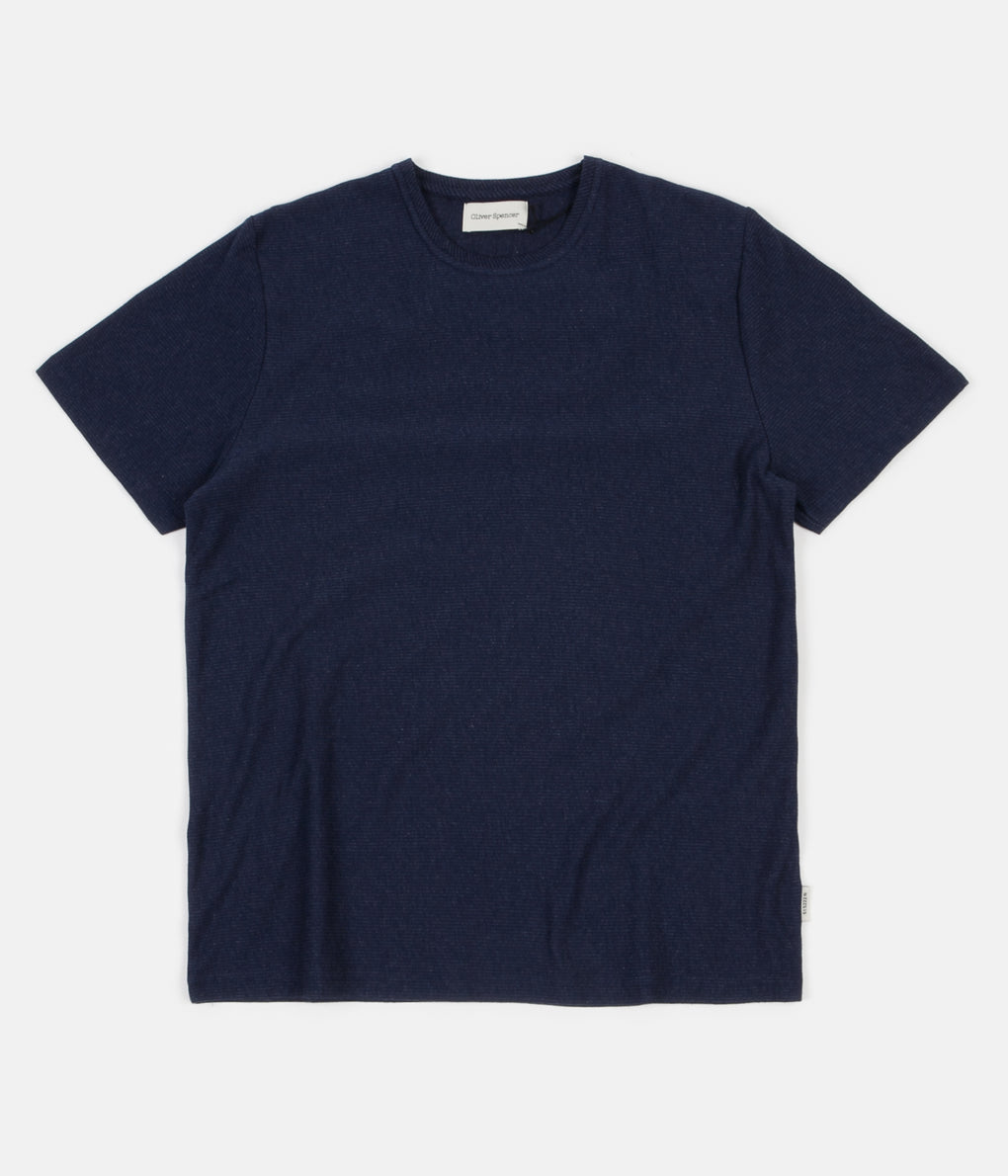 Oliver Spencer Conduit T-Shirt - Oakwell Midnight
