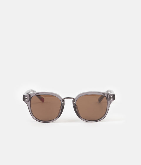 Oliver Spencer Conrad Sunglasses - Dark Grey