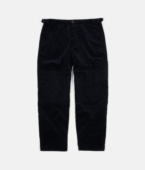 Oliver Spencer Judo Pants - Cord Navy