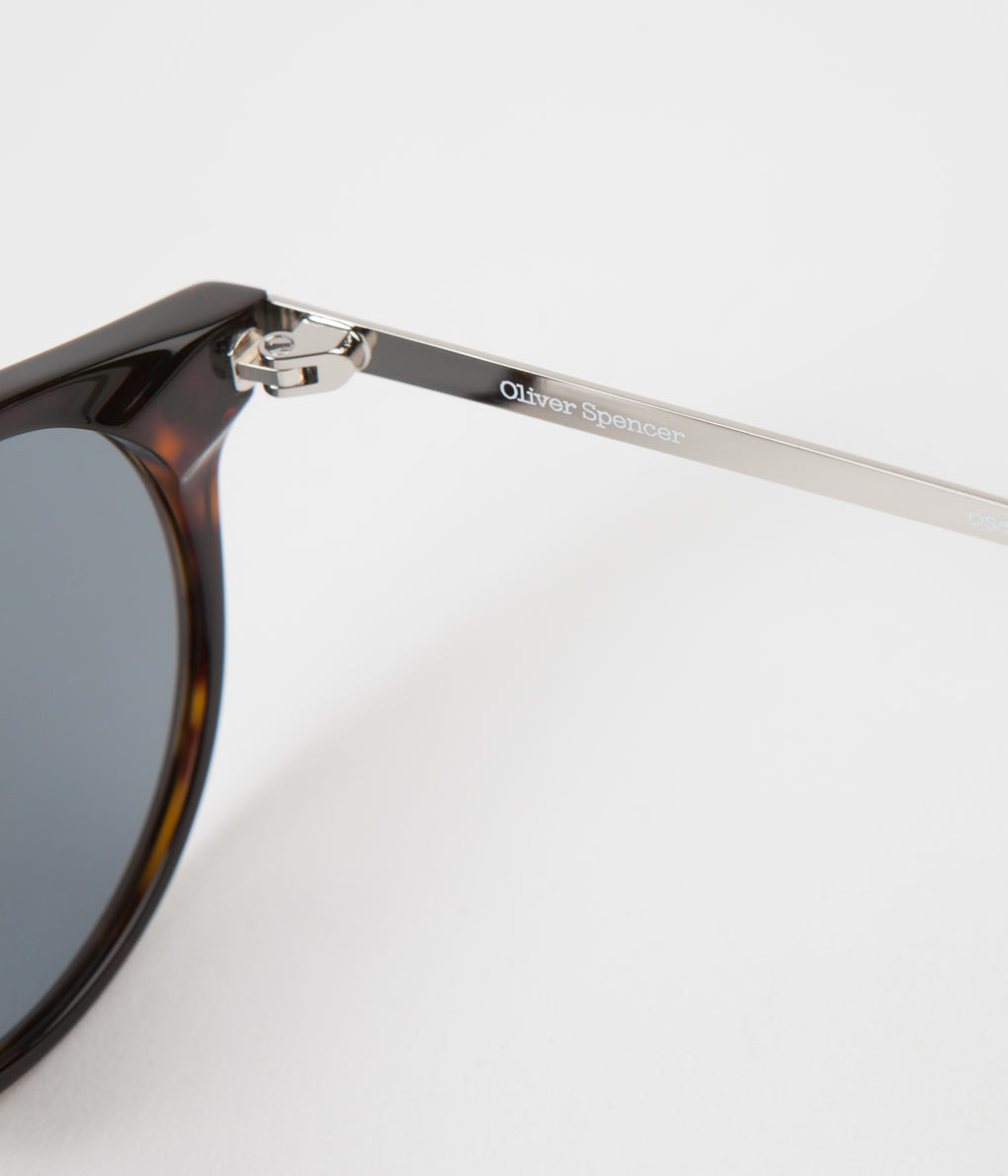 Oliver Spencer William Sunglasses - Dark Tortoiseshell