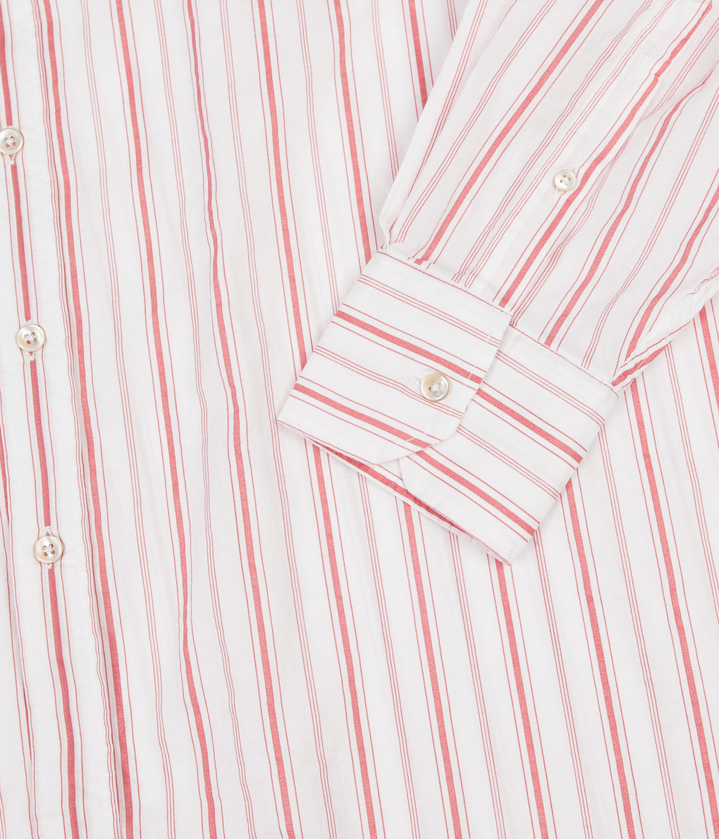 Our Legacy Borrowed BD Shirt - Printed Red Stripe