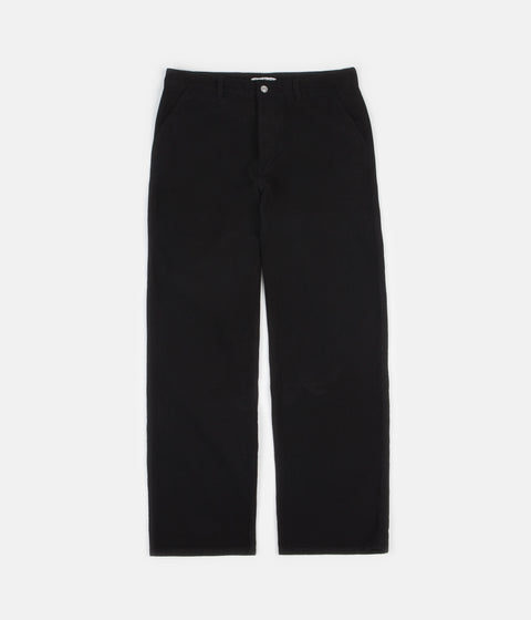 Our Legacy Commando Trousers - Black Moleskin