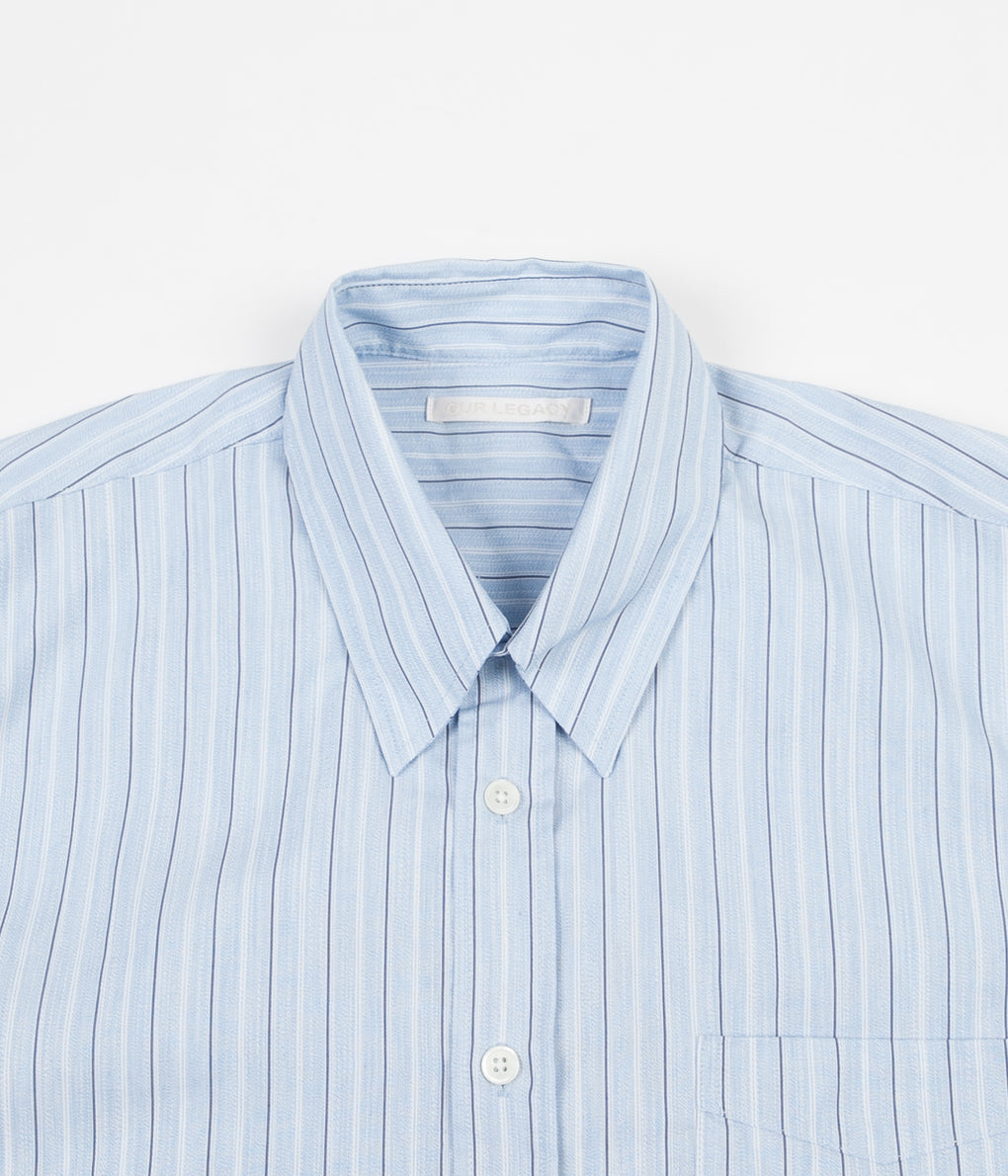 Our Legacy Less Borrowed Shirt - Vintage Irregular Stripe