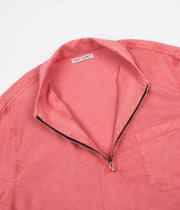 Our Legacy Shawl Zip Shirt - Clear Red