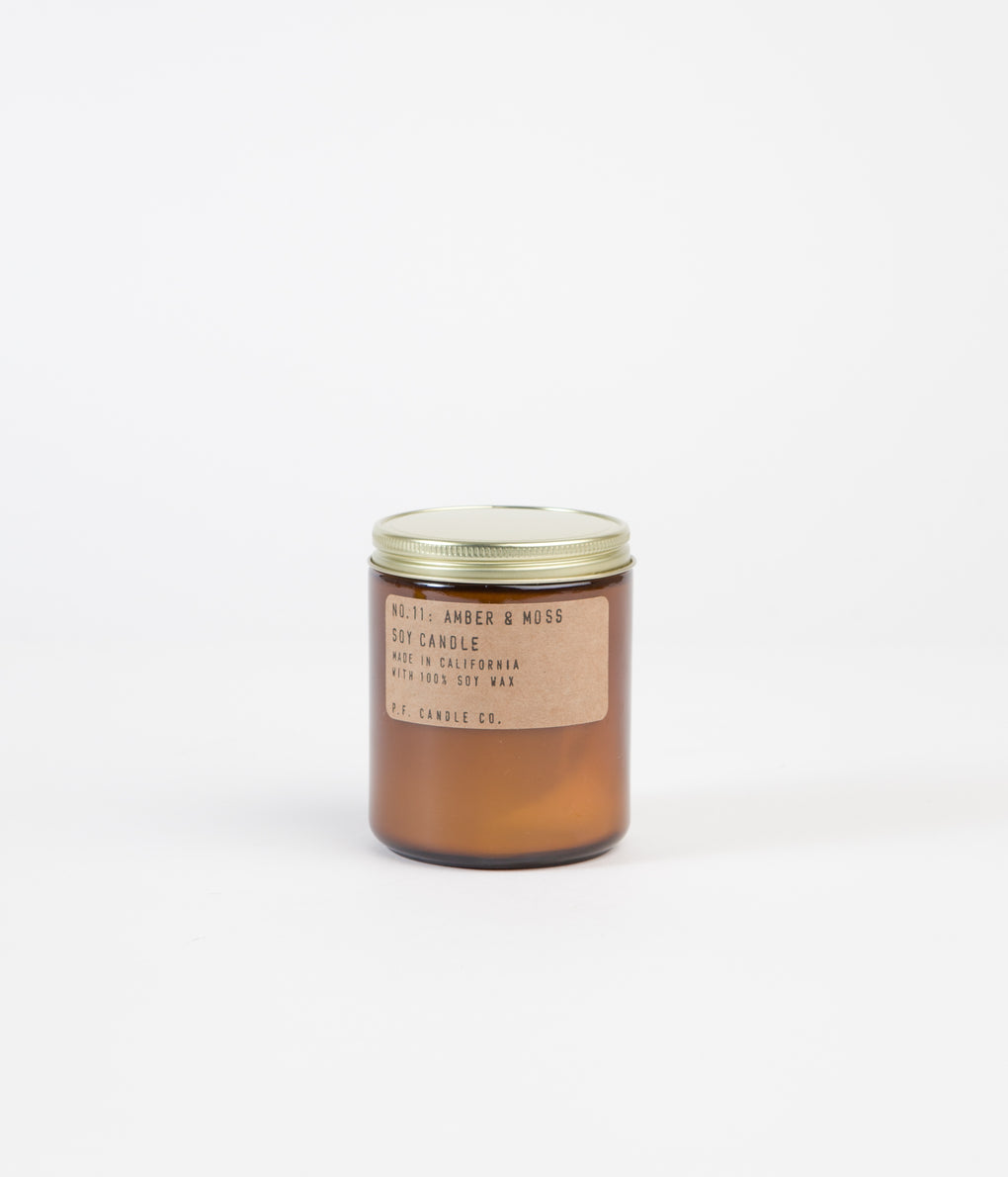 P.F. Candle Co. No. 11 Amber & Moss Soy Candle - 7.2oz