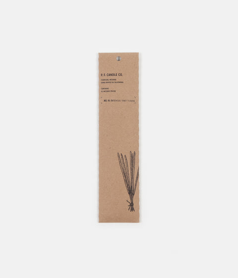 P.F. Candle Co. No. 19 Patchouli Sweetgrass Incense - 15 Pack