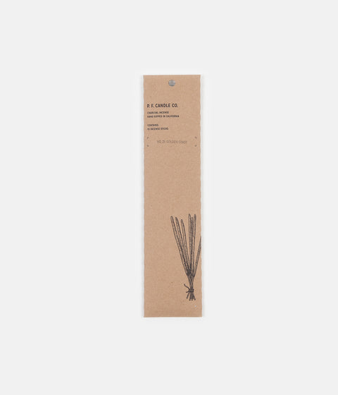 P.F. Candle Co. No. 21 Golden Coast Incense - 15 Pack