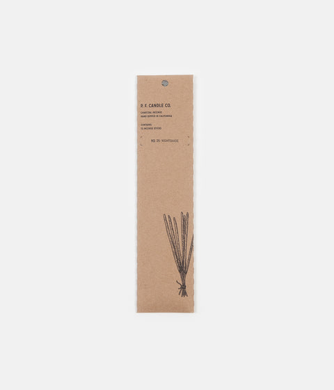 P.F. Candle Co. No. 25 Nightshade Incense - 15 Pack