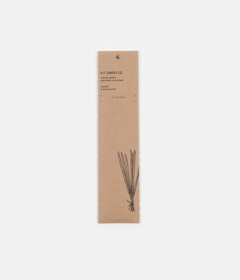 P.F. Candle Co. No. 26 Copal Incense - 15 Pack