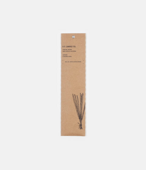 P.F. Candle Co. No. 32 Sandalwood Rose Incense - 15 Pack
